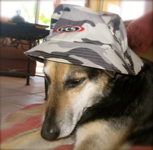 Smiley Zee and her FCS Bucket Hat